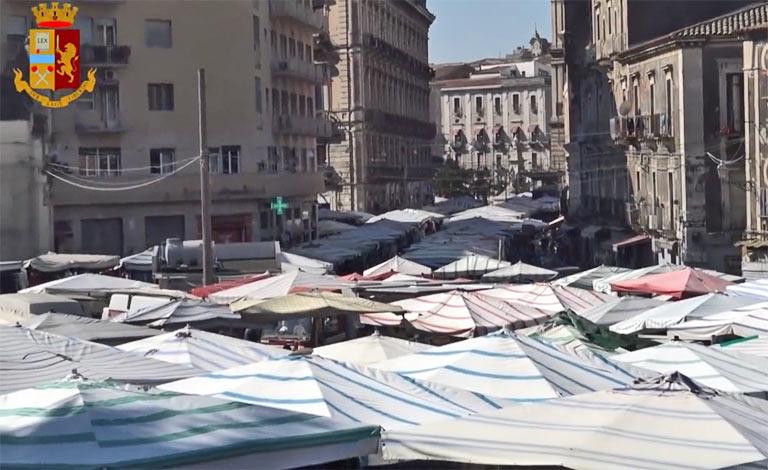 Fiera di Catania, clan infiltrati tra le bancarelle