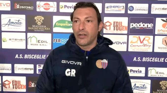 Bisceglie-Catania 0-3, post gara Raffaele, Di Piazza, Izco e Vrikkis - video
