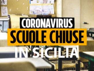 Venti Comuni siciliani chiudono le scuole