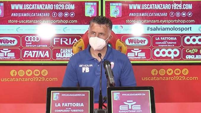 Catanzaro-Catania 2-0, interviste Baldini e Silvestri - video
