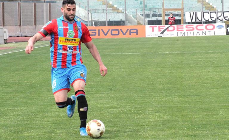 Catania-Viterbese 1-0