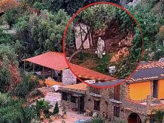 Droga e armi nella villa bunker di Palermo