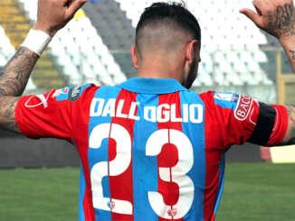 Catania-Viterbese 1-0, Dall'Oglio trascina gli etnei