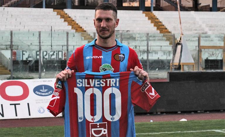 Tommaso Silvestri, Catania-Casertana 3-0