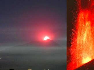 Etna, toccata e fuga con fontane di lava