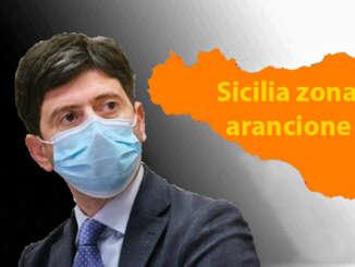 Sicilia resta in zona arancione ancora un po'