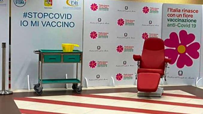 Vaccini senza prenotazione a Catania per insegnanti
