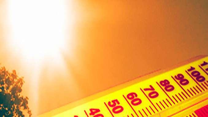 Nuova ondata di caldo e afa a Catania