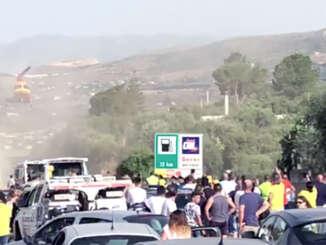 Grave incidente sulla Palermo-Catania, diversi feriti