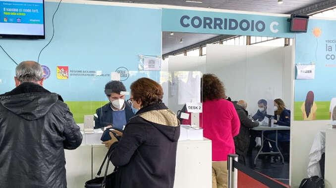 Vaccini Pfizer e Moderna in Sicilia, 3 giorni di open day