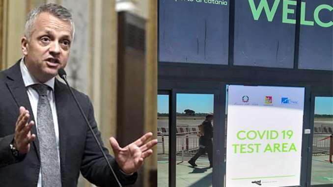 Aeroporto Catania, nessun controllo anti-Covid