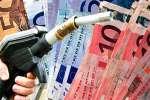 Aumentano i prezzi della benzina e del gasolio