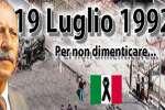 Ricordo di Borsellino e la scorta: «le mafie si sconfiggono»