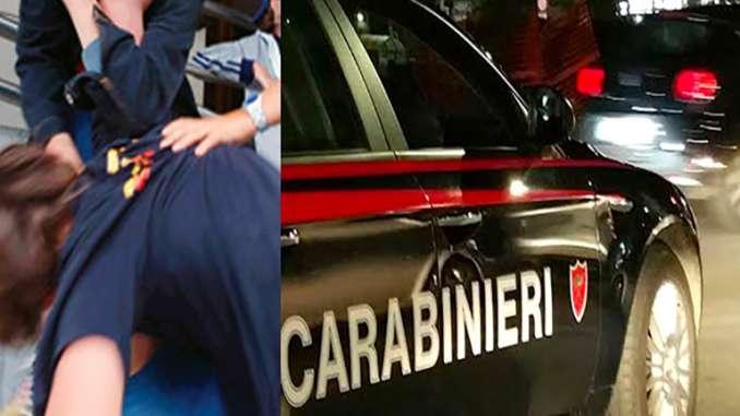Violenta la compagna, arrestato dai carabinieri
