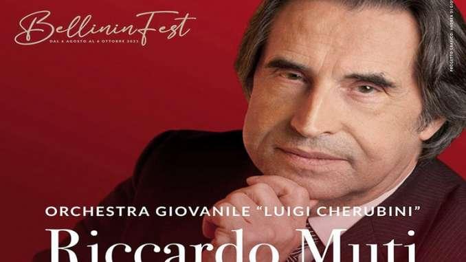 Bellinifest Taormina, Riccardo Muti ospite d'onore