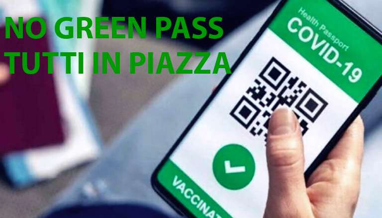 No green pass, anche a Catania monta la protesta