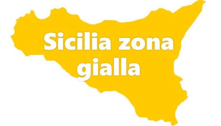Sicilia seconda per ricoveri, pericolo zona gialla