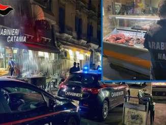 """Multe e sequestri negli """"arrusti e mangia"""" di Catania"""