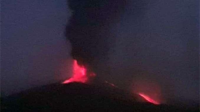 Etna, eruzione cessa alle prime luci dell'alba