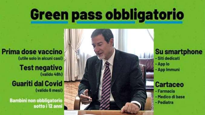Obbligo green pass uffici pubblici Sicilia, Garante sospende