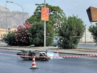 Incidente stradale a Palermo, muore scooterista