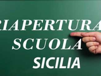 Scuola in Sicilia, a settembre tutti in presenza