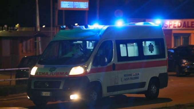 Impatto mortale con lo scooter a Palermo