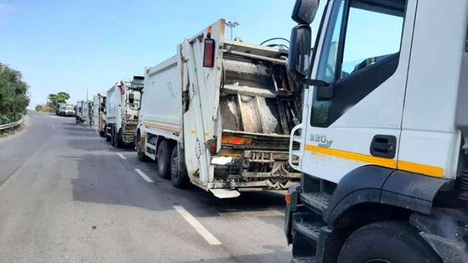 Discarica di Lentini stracolma, emergenza rifiuti
