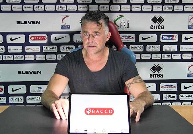 Catania-Fidelis Andria 2-0, Baldini post gara – Video