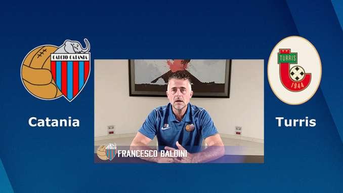 Verso Catania-Turris, intervista a Baldini