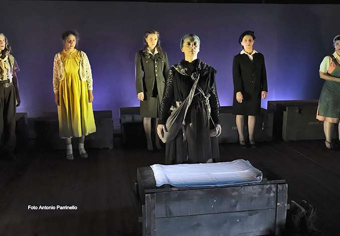 Donne in guerra in scena al verga di Catania