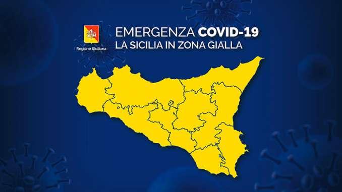 Regioni incidenza casi Covid, Sicilia prima