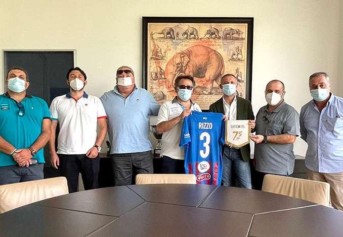 Calcio Catania riceve delegazione Ussi Sicilia