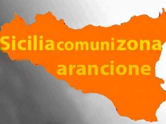 Comuni siciliani in zone arancioni, come comportarsi