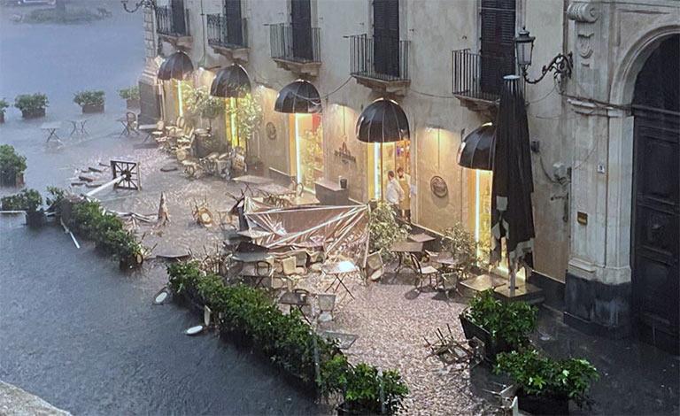 Catania conta i danni stimati in svariati milioni