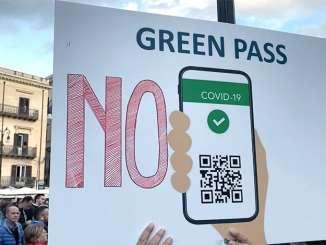 No Green Pass tornano in piazza a Palermo