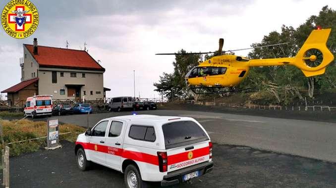 Etna, turisti francesi salvati dal temporale